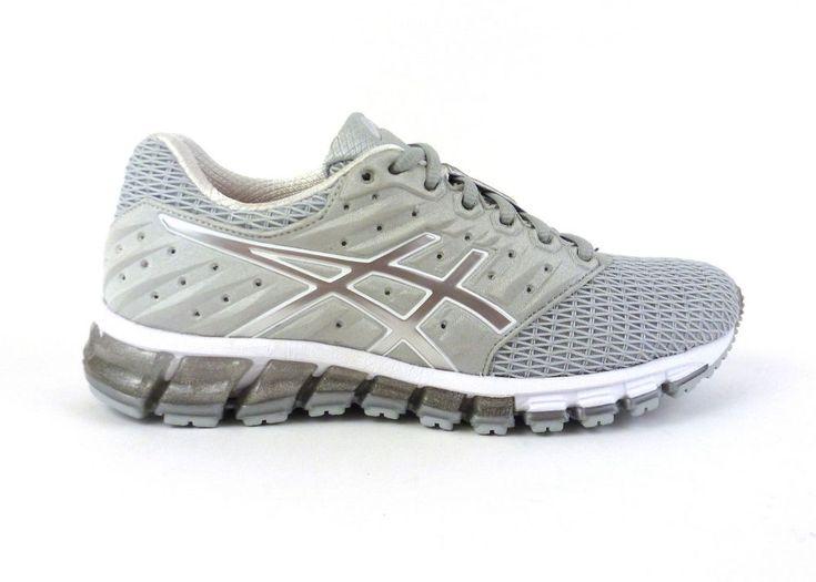 Asics women\u0027s Gel-Quantum 180 2 running shoes sneakers trainers Grey Silver