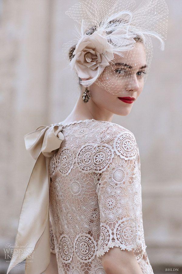 bhldn spring 2013 agata swing short lace wedding dress sleeves va et vien back