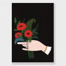 Flower Bouquet Art Print by Wild Wagon