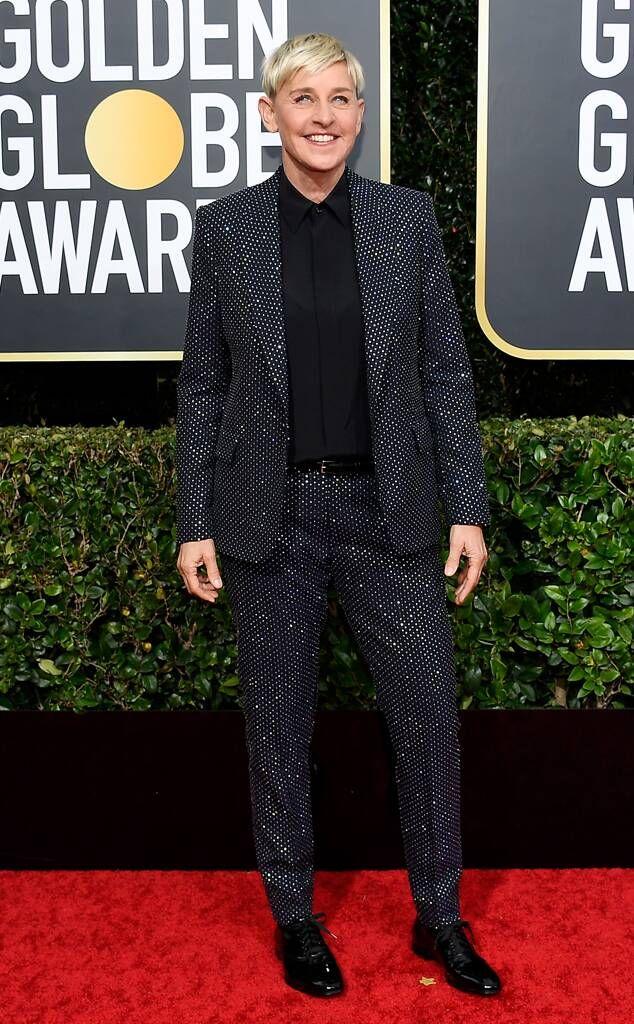 Pierce Brosnan from Golden Globes 2020 Red Carpet Fashion   E! Online    Golden globes 2020, Red carpet fashion, Ellen degeneres