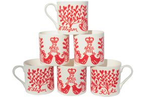 the other side of the fiona howard royal wedding mugs. Want one!