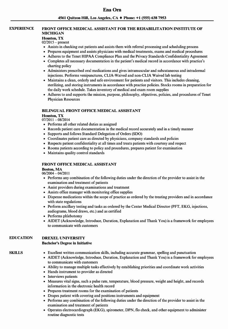 41+ Office assistant job description resume Examples