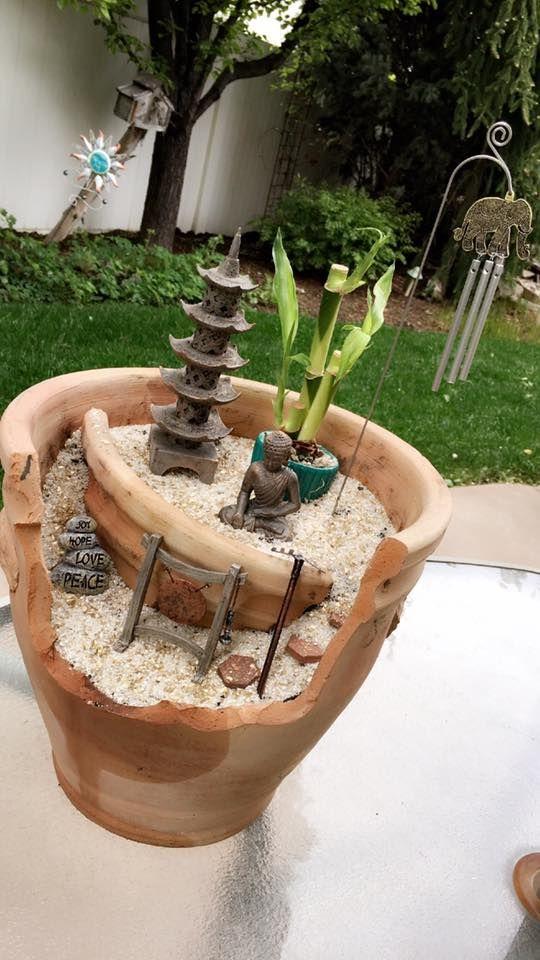 "Fairy Garden Contestant: Shaliece Lindsay  ""My AMAZING zen garden """