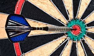 Which Premier League manager tried to qualify for a pro darts tournament?