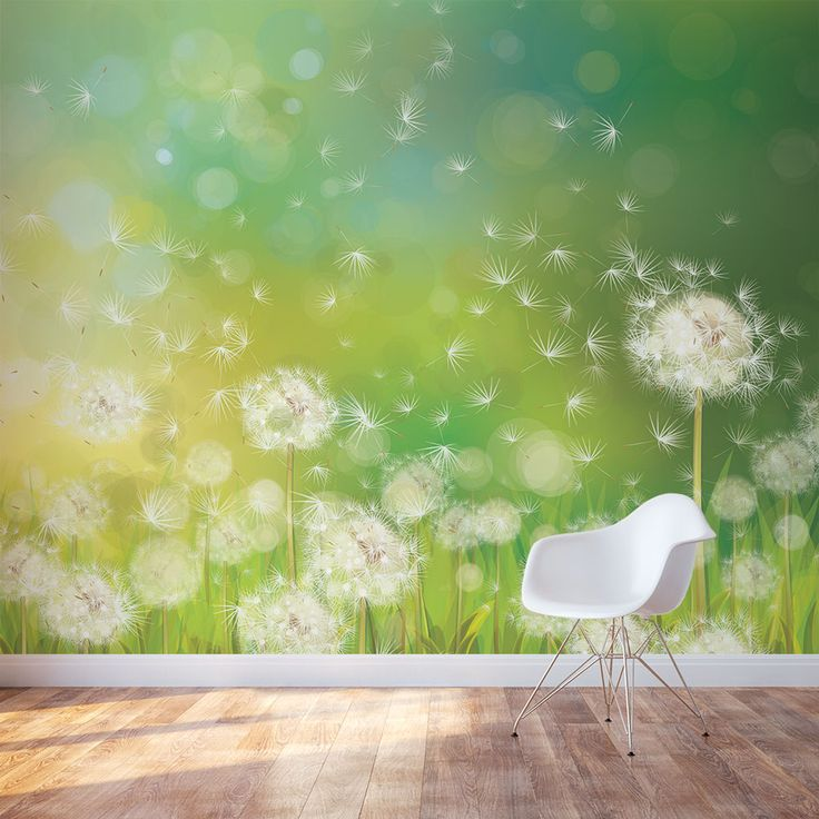 Share us on your network of choice and get 10% off your order! Dandelion Dream Wall Mural
