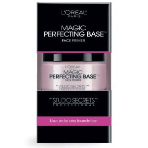Magic Perfecting Base -- a primer that smoothes lines, hides pores and banishes imperfections.