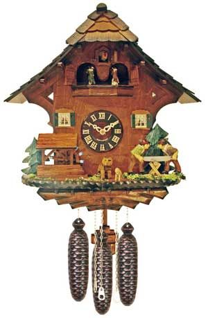 Folk says swiss clocks to me. Wouldn't fit in with my house at all but I do love them