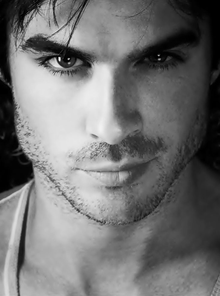 Ian Somerhalder. Seriously, his face makes my heart skip a beat. He is damn near everything that is sexy.