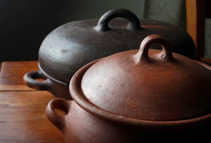 Fair Trade Chilean Clay Cookware Bean Pot Solay by Solaywellness1, $50.00