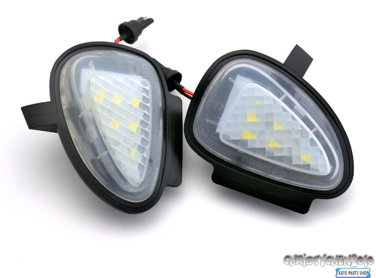 Rhino Tuning 2PC Styling Car LED Under Mirror Puddle Light SMD Lighting For Golf 6 GTI Cabriolet Touran
