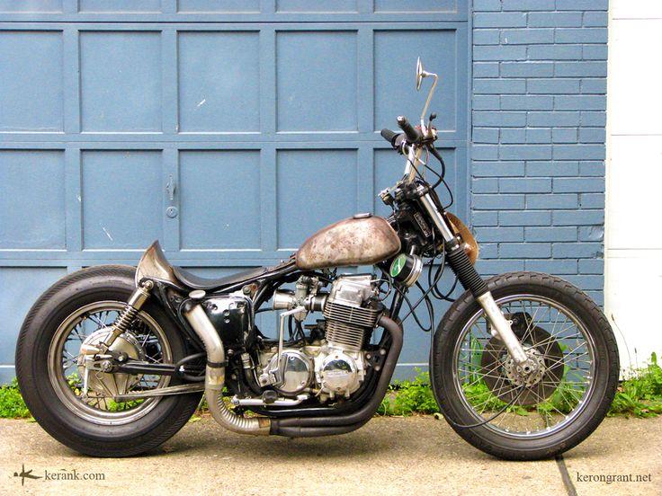 keron grant's cb750 brat bobber - bikerMetric