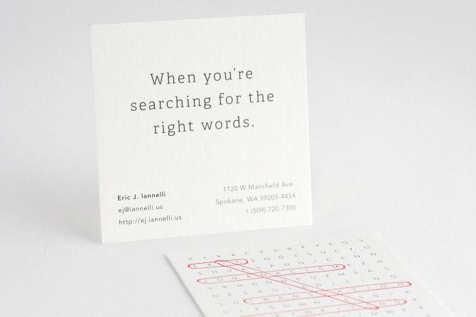 Eric Iannelli Business Card | Img: Corianton Hale @ SleepOp+. http://bit.ly/de2en_EricIannelli