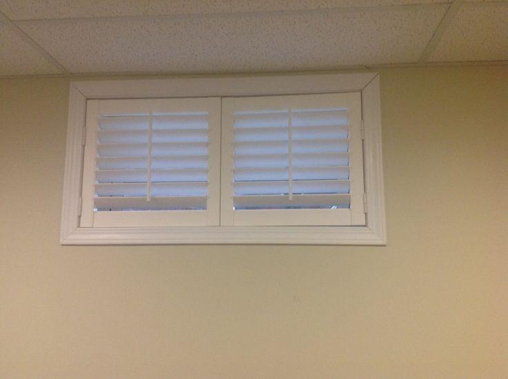 The 25 best basement window coverings ideas on pinterest for Basement window treatment ideas