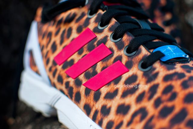 adidas ZX Flux Leopard Detailed Pictures