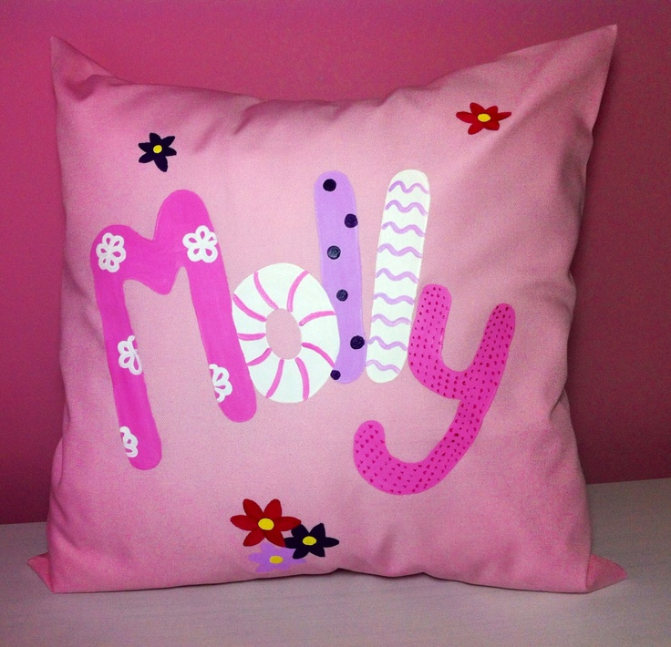 Personalised cushion for Molly