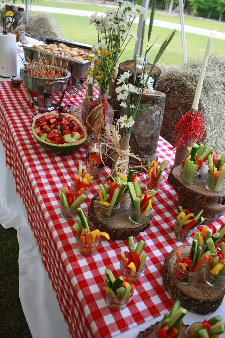 31 best images about hoedown on pinterest western themed for Appetizer decoration