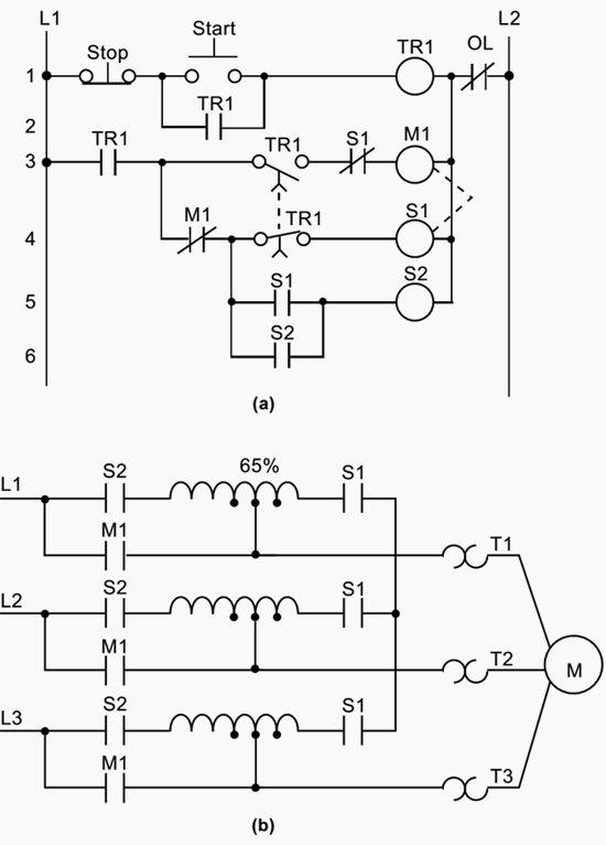 3 wire motor control schematic