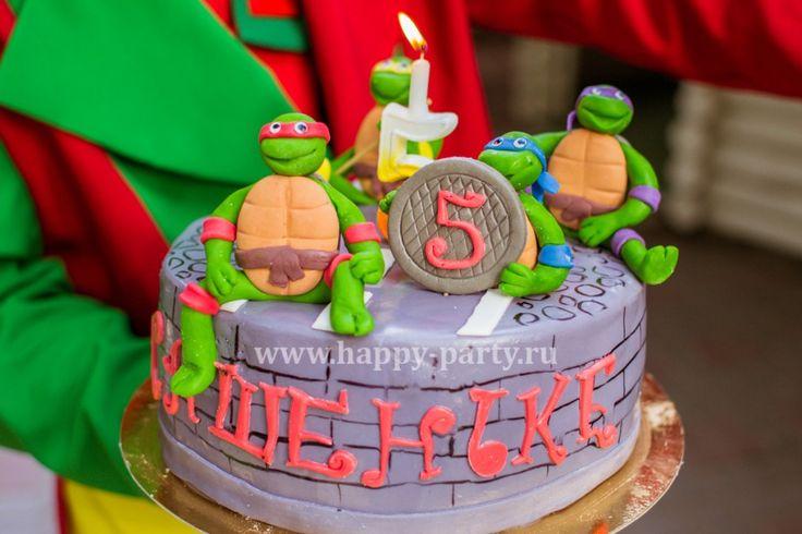 Детский день рождения в стиле Черепашек Ниндзя | Погремушки