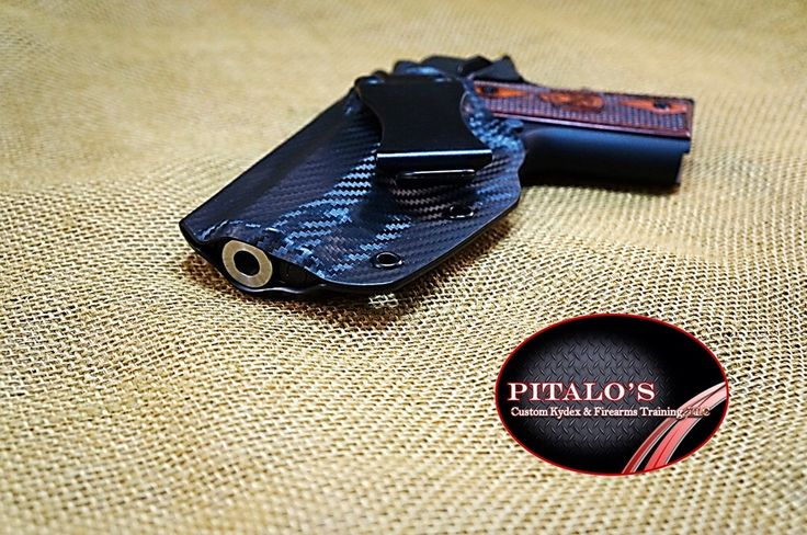 Small Of Back IWB Right Handed Holster For A Beretta, Bersa, Browning, Caracal, Colt, CZ, FN, Glock, H&K, Kahr, Kel-Tec and Kimber by PitalosCustomKydex on Etsy https://www.etsy.com/listing/461300652/small-of-back-iwb-right-handed-holster