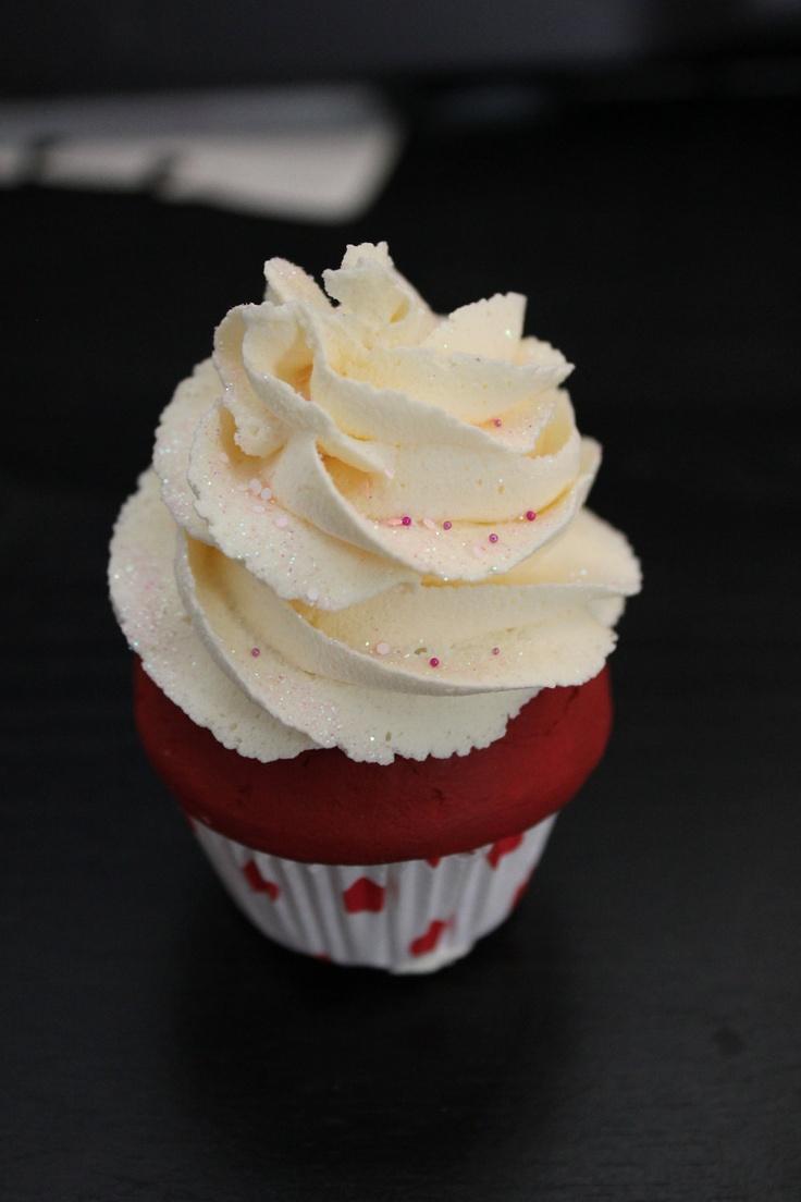 Fake Cupcake Red Velvet Baby 5 00 Via Etsy Faux