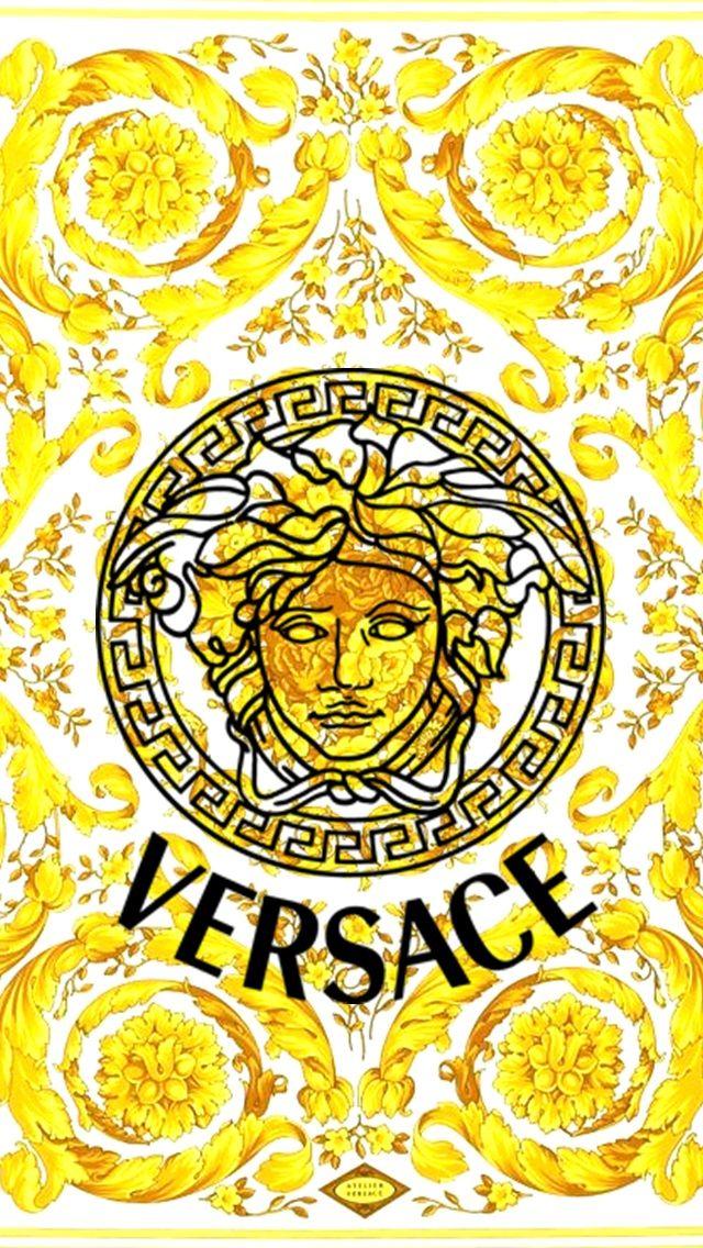 Versace  E  B E  A E  Ab E  B E  Bc E   Versace Wallpaper Versace Clothing Design Art Logo Design Logo Branding
