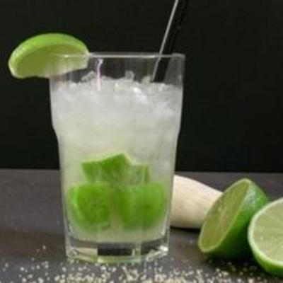 Caipirinha-- use white rum instead of cachaca. Drank these the WHOLE time in the Dominican Republic.