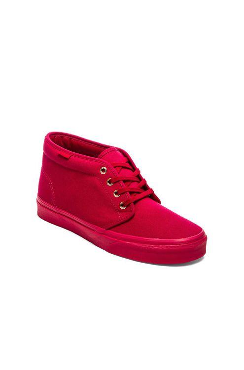 Vans Chukka Boot in Crimson | REVOLVE