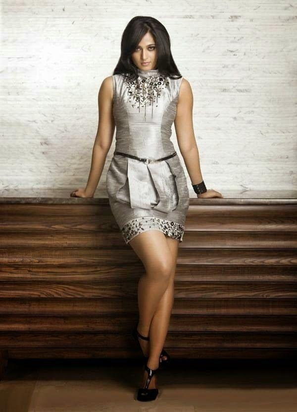 Anushka Shetty in Stylish Short Dress, Latest Frocks for Girls | Indian Ramp