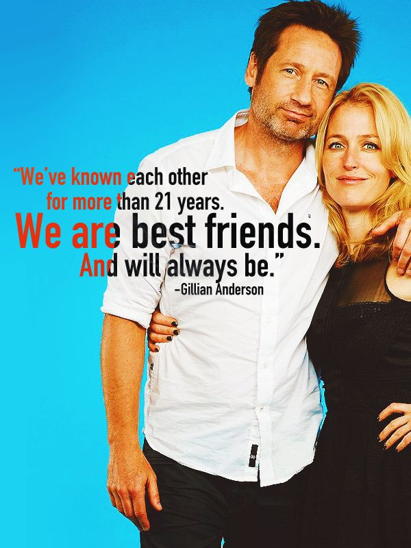 mulderscullyfeels: Quotes. David and Gillian on... | i'll show you later