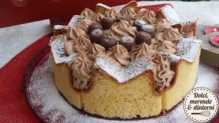 Torta di pandoro - DolciMerendeeDintorni