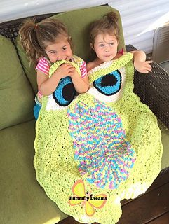 This fun, whimsical, and eye catching snuggle sack is designed to be roomy for…
