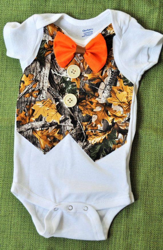 Rylo Country Boy / Hunter Vest orange bowtie camo by RYLOwear, $19.00