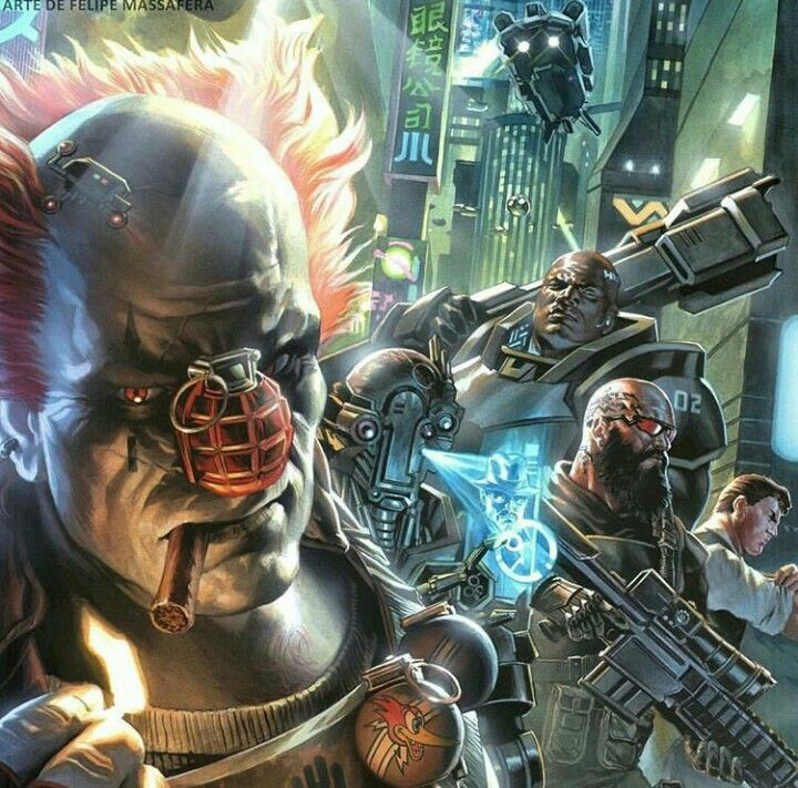 Cyberpunk (Jovem Nerd RPG)