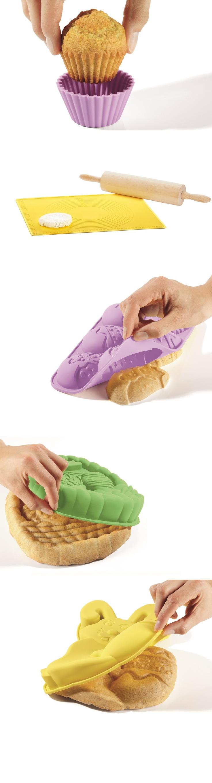 Proste w użyciu, łatwe w czyszczeniu. Silikonowe foremki z Lidla.