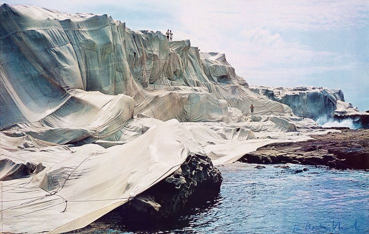 <b>Christo</b> and Jeanne-Claude. 'Wrapped Coast - One Million Square Feet ...