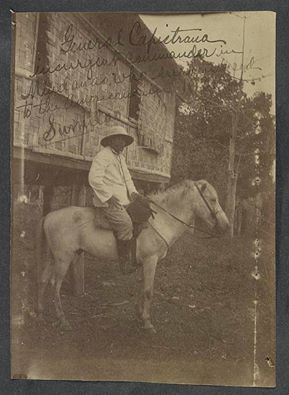 """Heneral Capistrano, isang nakalimutang bayani ng Digmaang Filipino-Amerikano.  Image title : """"General Capistrano, insurgent commander in Mindanao, who surrendered to the Americans in 1901, Sumilao"""" Image source : University of Michigan Library Digital Collections Image URL : http://loc.gov/pictures/resource/ds.03566/ Image accessed on June 10, 2014"""