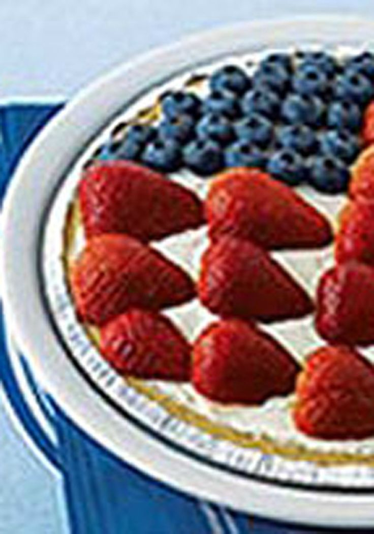 American Berry No-Bake Cheesecake -- Need a surefire dessert winner for your Labor Day party? Here it is: our five-star American Berry No-Bake Cheesecake recipe. (Hundreds of reviewers can't be wrong!)