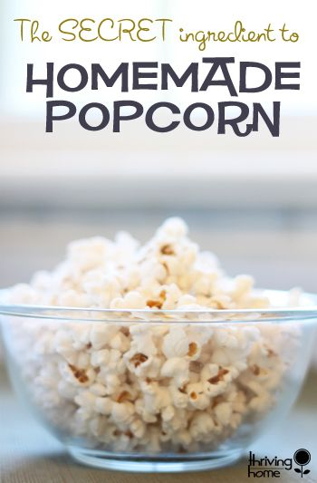 Skip the store-bought and try this. Quite possibly the best homemade and healthy stove-top popcorn ever!