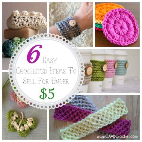 summer craft ideas to sell six easy items to crochet and sell for 5 7210