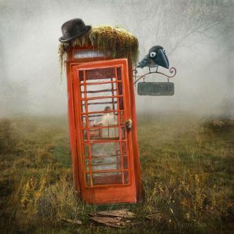 Phonebox Cottage by Matylda Konecka | Edinburgh Arts
