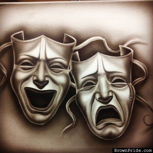 Smile Now Cry Later Drama Mask