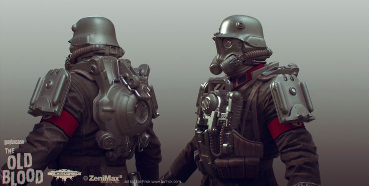 Wolfenstein: The Old Blood concept art - Buscar con Google