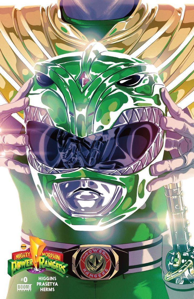 Mighty Morphin' Power Rangers Variant Covers - Imgur