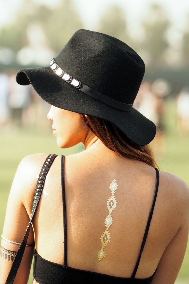Temporary Metallic Tattoos - V & V Jewels