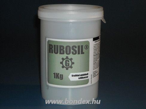 Rubosil G grafittos szilikonzsír  1 kg