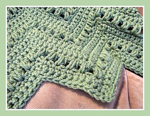 Ravelry: Speedy Puff Blanket FREE crochet pattern by Jennifer Cirka Jaybird Designs