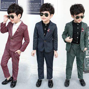 9fac8281f6250 子供服 スーツ 男の子 フォーマル 入学式 上下セット ジュニア キッズ 男児 卒園式 入園