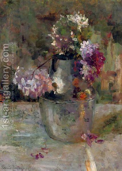 Floris Verster:Purple Hortensia in a vase