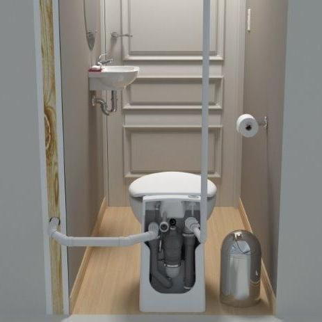 Saniflo Sanicompact Toilet Upflush Toilet Toilet And