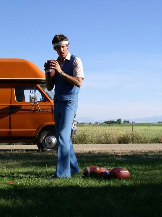 """""""Back in '82, I bet I could've thrown a football over them mountains."""""""